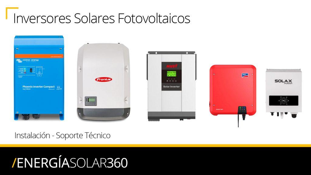 Instalación, Distribuidor, Mantenimiento, Reparación, SAT, Soporte Técnico Inversores Solares Fotovoltaicos