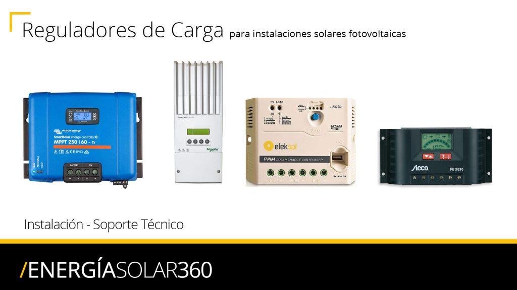 Reguladores de Carga Instalación, Distribuidor, Mantenimiento, Reparación, SAT, Soporte Técnico